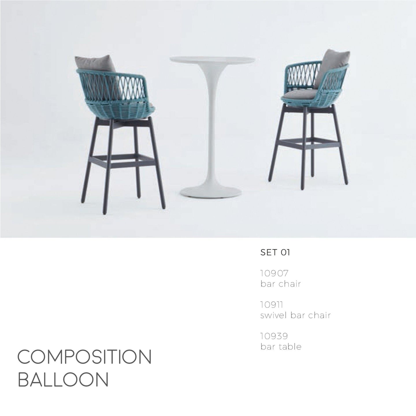 Balloon Barstool Table