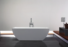 Load image into Gallery viewer, Modern White Paris Free Standing Bathtub