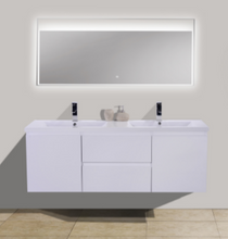 "Load image into Gallery viewer, Wilshire 60"" Bathroom Vanity-Maison Bertet Online"