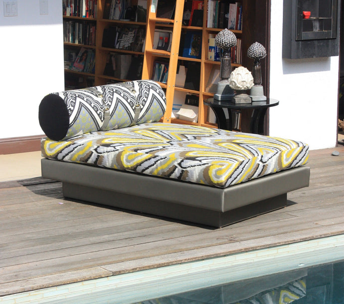 TT Driftwood Chaise Lounge Daybed