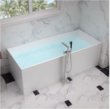 Load image into Gallery viewer, Modern Cube Free Standing Marble Bathtub