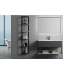 "Load image into Gallery viewer, Multifamily- Dark Grey Marseille 35"" Bathroom Vanity-Maison Bertet Online"