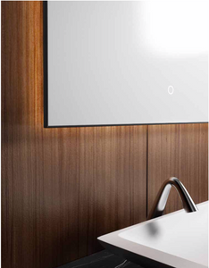 "Multifamily- Dark Wood 59"" Bathroom Vanity-Maison Bertet Online"
