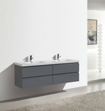 "Load image into Gallery viewer, Wilshire 84"" Bathroom Vanity-Maison Bertet Online"