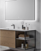 "Load image into Gallery viewer, Multifamily- Light Wood Ace 55"" Bathroom Vanity-Maison Bertet Online"