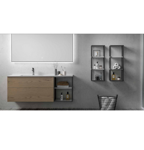 "Multifamily- Light Wood Ace 55"" Bathroom Vanity-Maison Bertet Online"