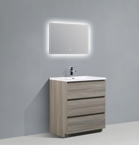 "Los Angeles 30"" Bathroom Vanity-Maison Bertet Online"