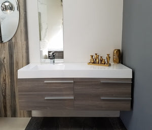 "Multifamily- New Hampton 53"" Bathroom Vanity-Maison Bertet Online"