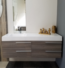 "Load image into Gallery viewer, Multifamily- New Hampton 53"" Bathroom Vanity-Maison Bertet Online"