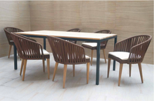 Load image into Gallery viewer, Brown Rope Dining Set