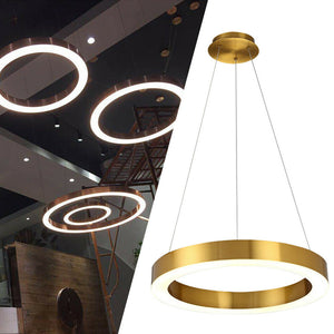 Circle Ring Chandelier