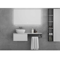"Load image into Gallery viewer, Multifamily- White Ace 35"" Bathroom Vanity-Maison Bertet Online"