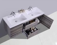 "Load image into Gallery viewer, Multifamily- Wilshire 60"" Bathroom Vanity-Maison Bertet Online"