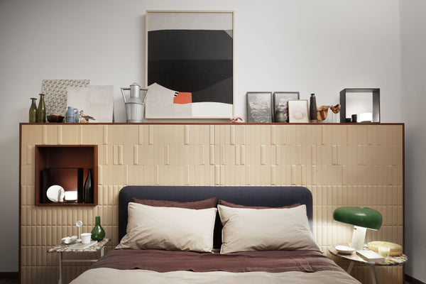 Society Limonta veste il letto di 'The apartment'