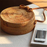Rattan Basket Bag