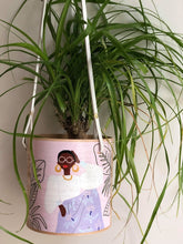 Load image into Gallery viewer, SASSY GIRL HANGING PLANTER