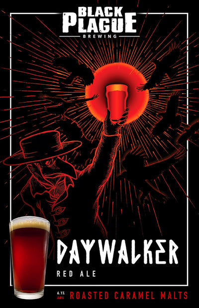 Daywalker (Red Ale) 16oz 4-Pack Crowlers
