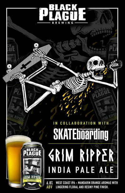 Grim Ripper IPA (6-pack of 12oz Cans)