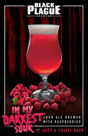In My Darkest Sour - Raspberry Kettle Sour Ale