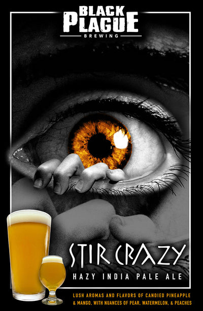 Stir Crazy - Hazy IPA (4-pack)