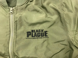 Black Plague Bomber Jacket