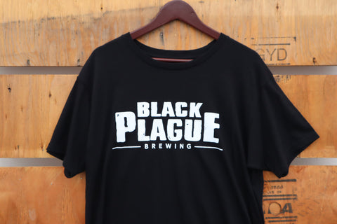 Black Plague Logo Tee
