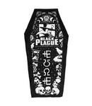 Premium Coffin Towel - Ashes To Ashes - Black Plague Brewing Shop