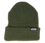 Black Plague Beanie - Army Green