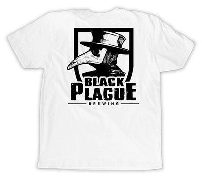 Plague Doctor Logo Tee - White