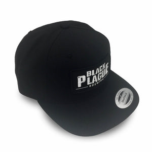 Black Plague Snapback Hat - Black - Black Plague Brewing Shop