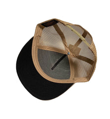 Black Plague Camo Mesh Hat - Tan