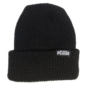 Black Plague Beanie - Black - Black Plague Brewing Shop