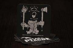 Black Plague Coaster Pack