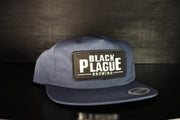 Snapback Hat (Navy Blue Unstructured)