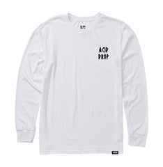 Acid Drop L/S Tee - White