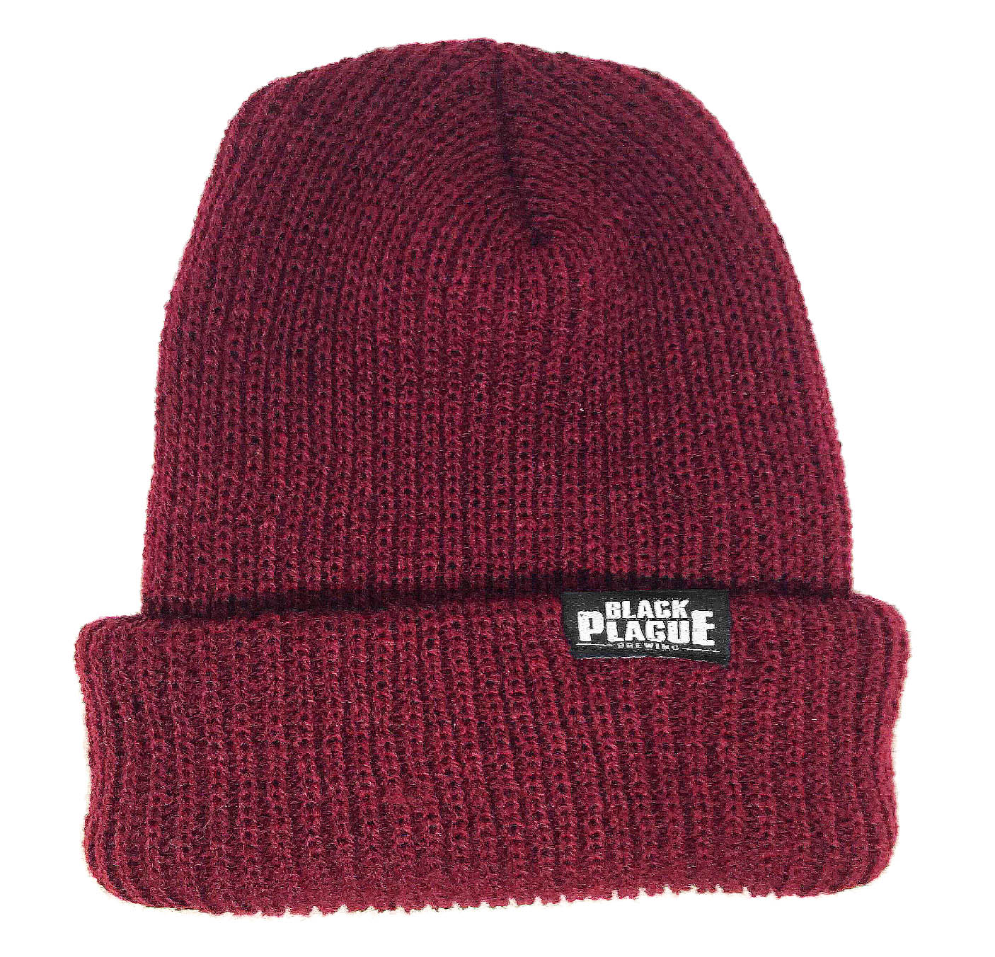 Black Plague Beanie - Oxblood - Black Plague Brewing Shop