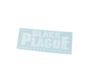 Sticker - BLACK PLAGUE Logo decal