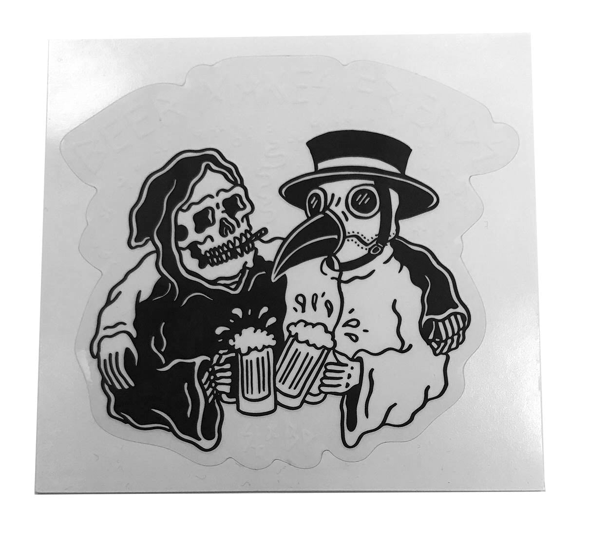 Sticker - Beer Makes Friends