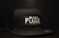 Black Plague Mesh Hat