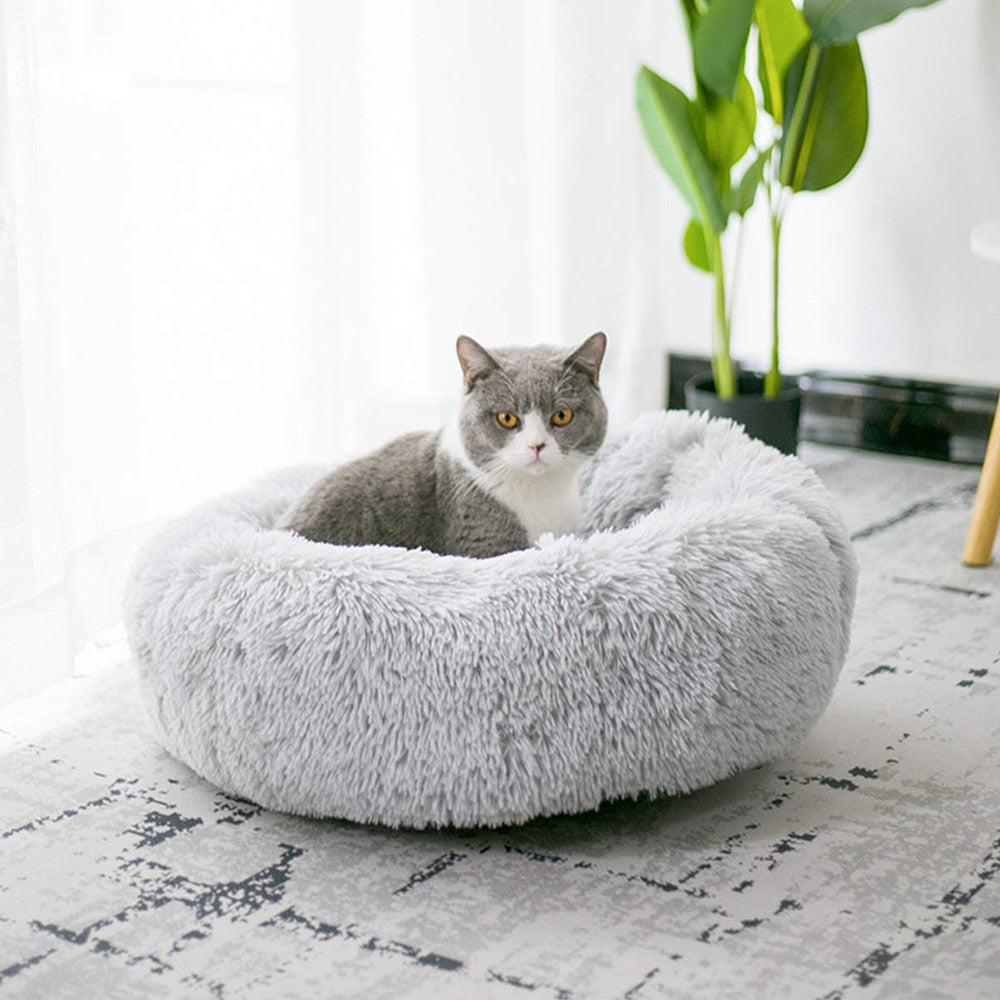 Fluffy Heaven Cat Bed