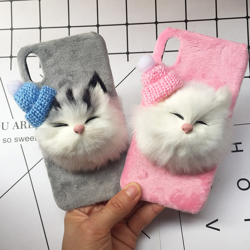 Cat With A Hat iPhone Case