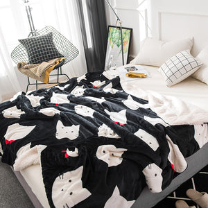 Kitty Kingdom Throw Blanket