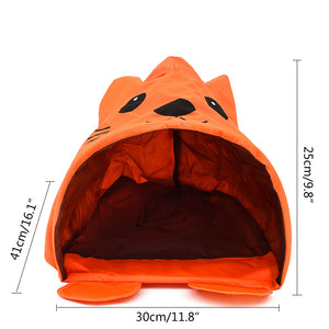 Cat Tunnel Tent