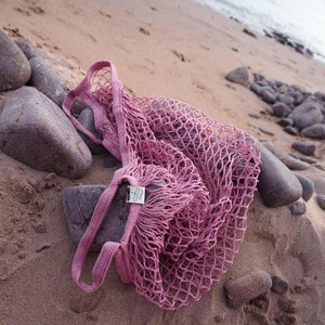 Ali Mac Pink Eco-Cotton Bag.
