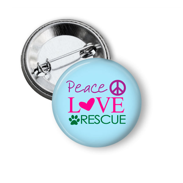 Animal Rescue Pinback Buttons