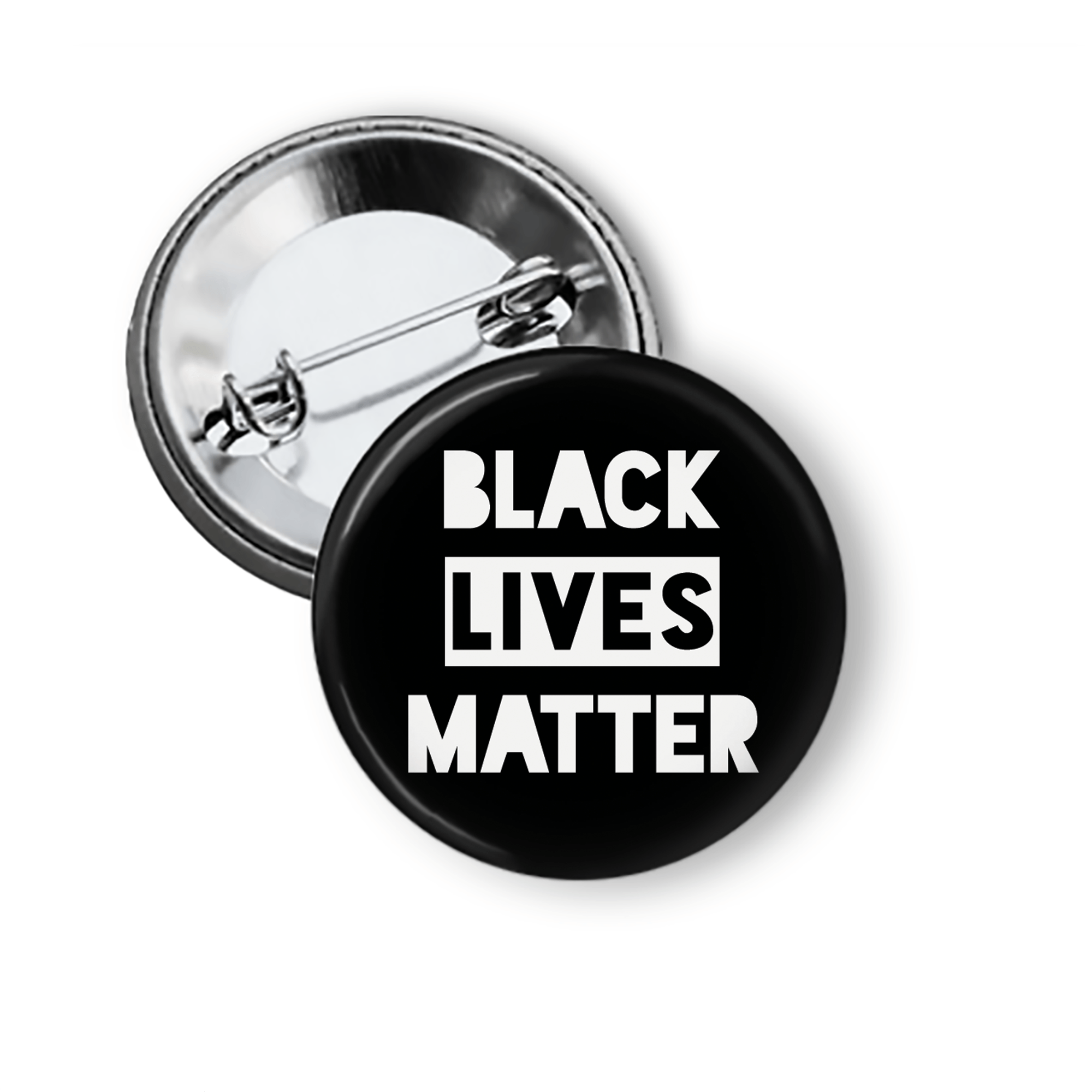 Black Lives Matter Pinback Button Pins Buttons For the People