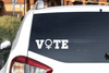 Feminist Vote Vinyl Car Decal Women's Symbol Decal/Sticker Buttons For the People