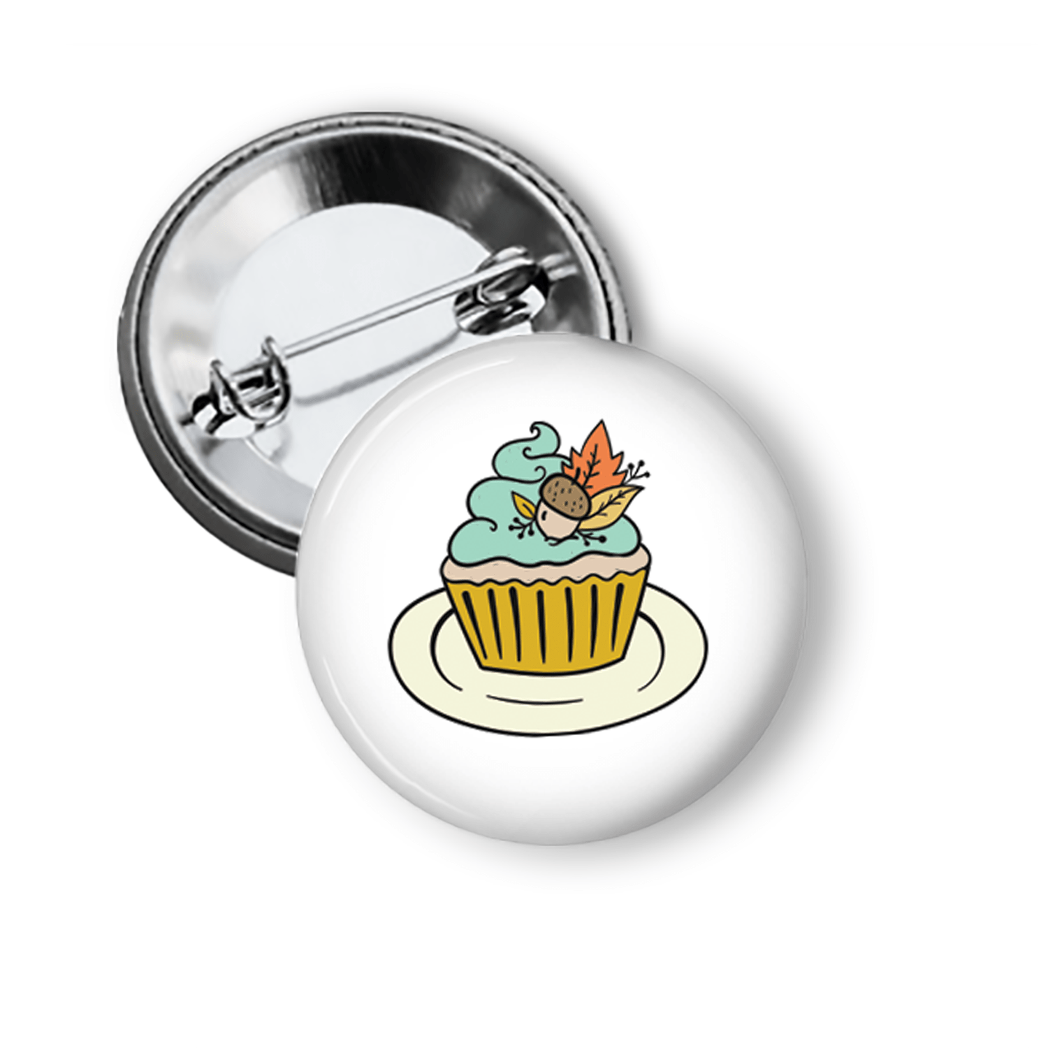 Fun Pins For Fall Cute Cupcake Pins Buttons For the People