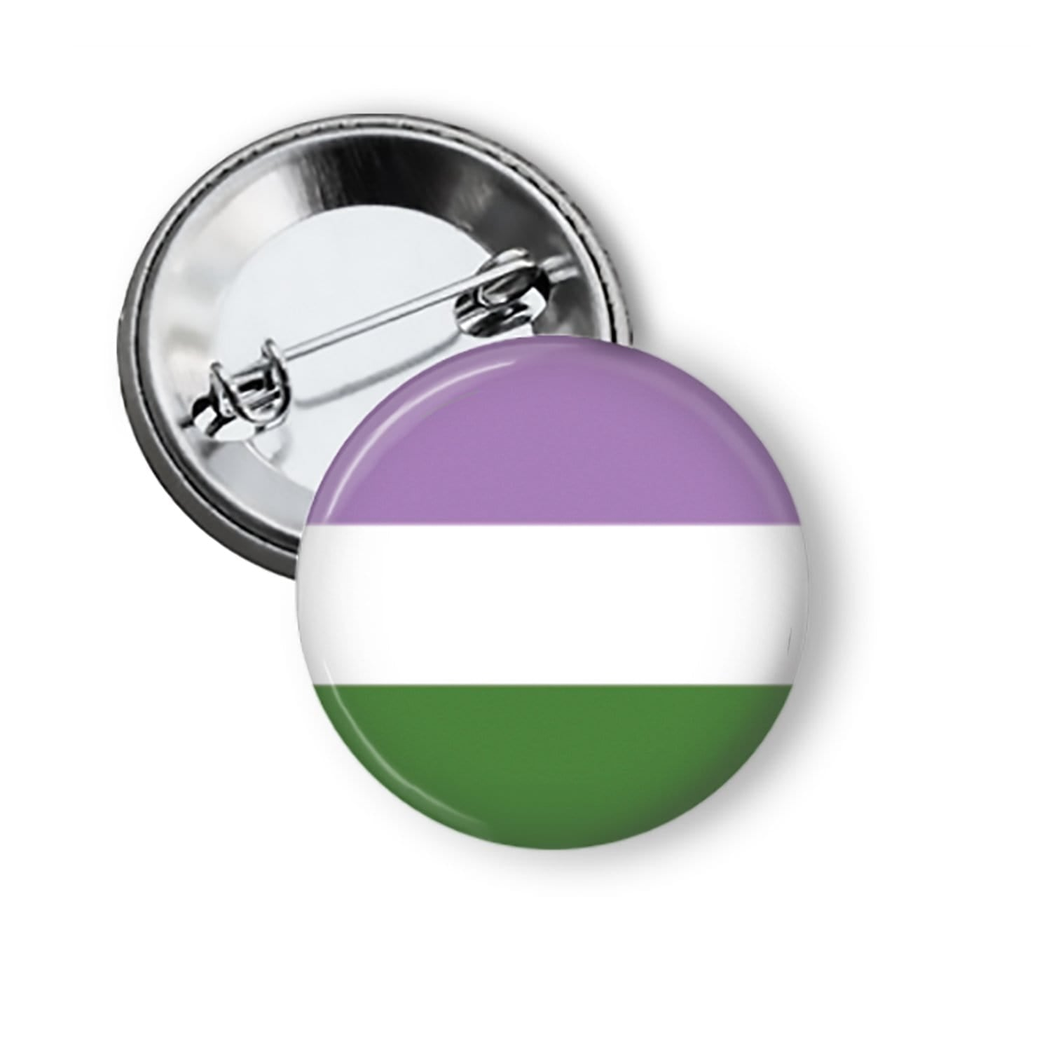 Gender Queer Flag Pin Pins Buttons For the People
