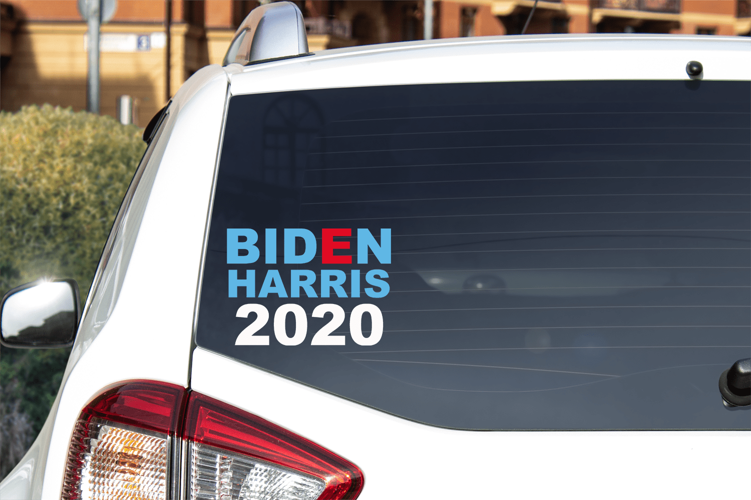 Joe Biden Kamala Harris 2020 Vinyl Car Decal Bumper Sticker Decal/Sticker Buttons For the People
